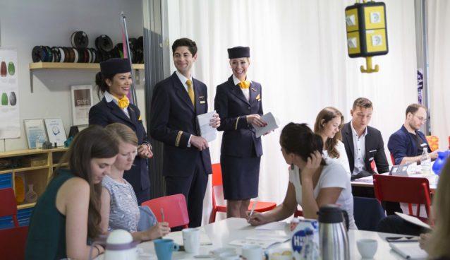 "Kick-off Workshop der ""Telekom Fashion Fusion & Lufthansa FlyingLab"" - Challenge ©Telekom Fashion Fusion"