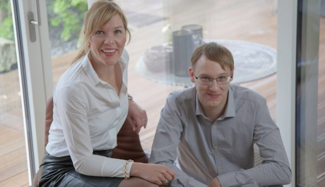 WEsualize - Gründer: Nadin-Shirin Zimmermann und Marcel Lambert