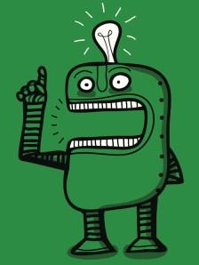 aha moment robot