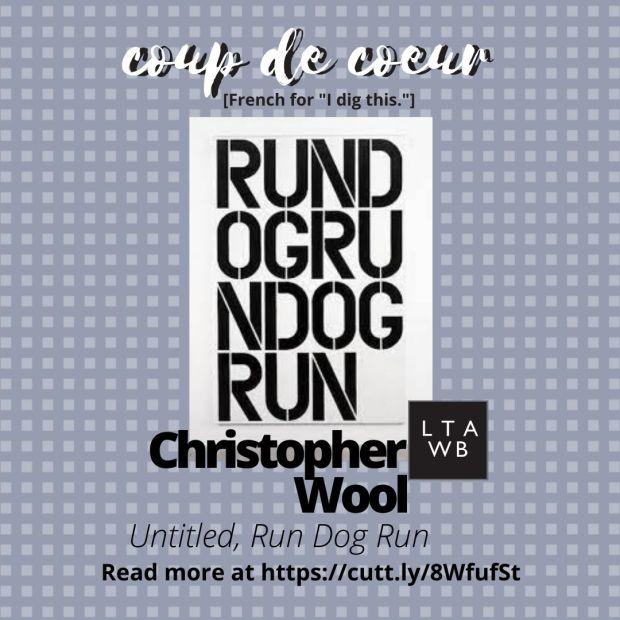 Christopher wool art