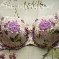 Bra Review: Gorsenia Margo K280 padded balconette, 30E/65E & OtherEden.co.uk Giveaway!