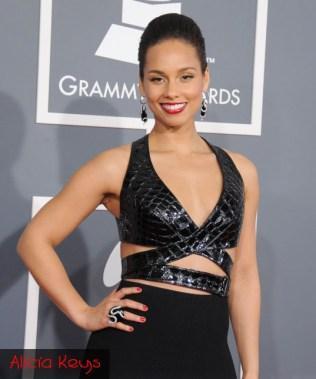 Grammys 2013 Alicia Keys