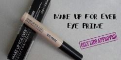 Make Up For Ever - Eye Prime