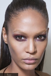 F/W 2013-14 makeup trend: Grunge Eyes - Gucci