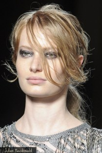 F/W 2013-14 makeup trend: Grunge Eyes - Julien Macdonald