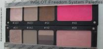 INGLOT - Freedom System Palettes
