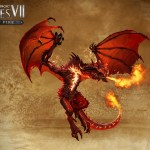 Might & Magic Heroes VII - Trial by Fire - Red Dragon Artwork