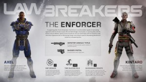 Lawbreakers: Enforcer Infographic