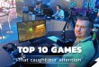 Gamescom Top 10 Games