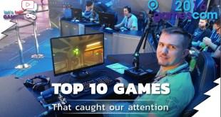Gamescom Top 10 Games