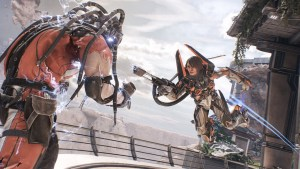 LawBreakers Vangaurd vs Titan