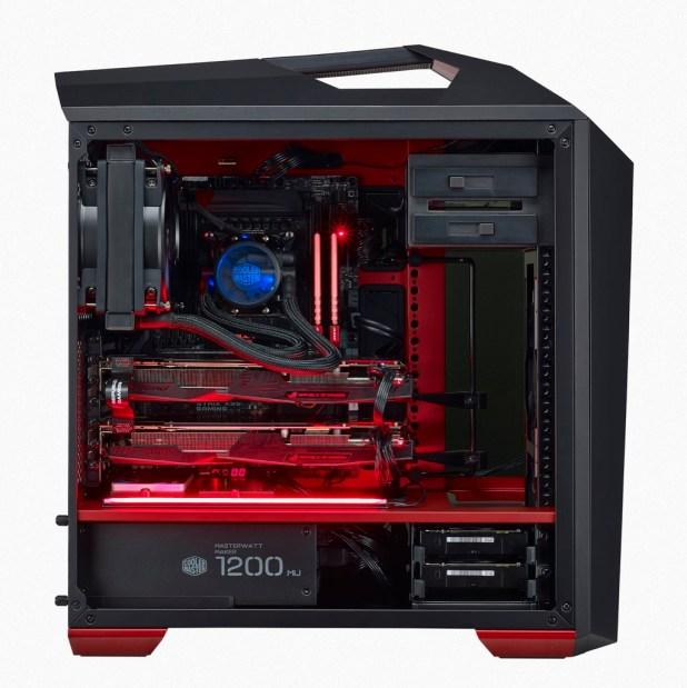 Red LED's on the MasterCase Maker 5T