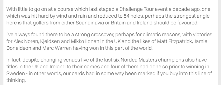 Challenge tour golf betting forum betting icons for facebook