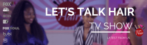 Let's Talk Hair hosts Del and Rhavin with celebrity stylist Kim Kimble