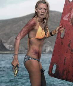 LOOK LIVELY,BLAKE.nnFormer Gossip Girl star Blake Lively finds herself in a life and death struggle in the new movie The ShallowsnnIn the taut thriller The Shallows, Nancy (Blake Lively) is surfing alone on a secluded beach when she is attacked by a great white shark and stranded just a short distance from shore. Though she is only 200 yards from her survival, getting there proves the ultimate contest of wills. It¿s Jaws for a new generation.nnThe movie is decribed as ¿a cross between 127 Hours meets Jaws, with a touch of Gravity thrown in for good measure¿ and is released June 2016.nnThe 28-year-old, American actress is expecting her second child with husband, actor Ryan Reynolds.nn75596nEDITORIAL USE ONLY