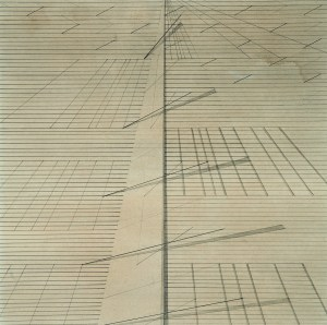 Untitled, ca. 1975, from Survey of Indian Modernist Nasreen Mohamedi Inaugurates The Met Breuer March 2016