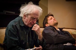 Austin Pendleton and Eric Joshua Davis. Photo Talya Chalef