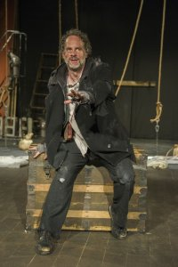 Benjamin Evett as the Mariner. Photo Carol Goldfarb.