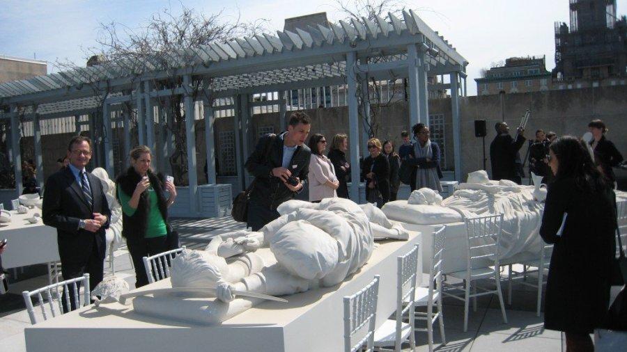 A. Villar Rojas, The Theater of Disappearance, Metropolitan Museum Roof Garden, Summer 2017
