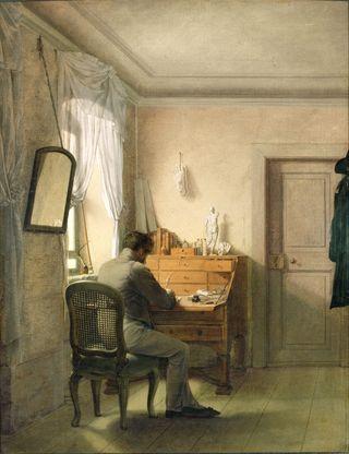 Kersting   Man at His Desk