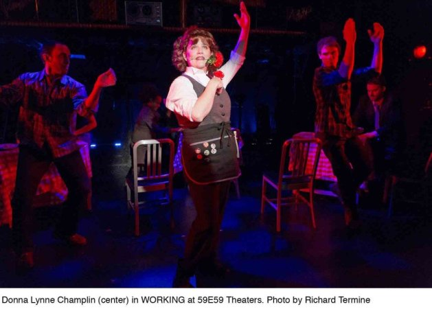 Working, A Musical | From the Book by Studs Terkel | Adapted by Stephen Schwartz and Nina Faso | Contributions by Gordo Greenberg | Prospect Theater Company | 59E59 Theaters