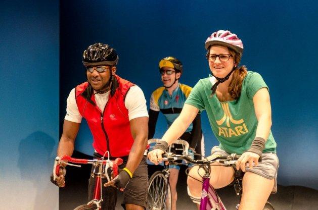 Langdon G. Woodson (Tim Billy), Vandit Batt (Todd),Jessica DiGiovanni(Penny). Photo Web Begole.