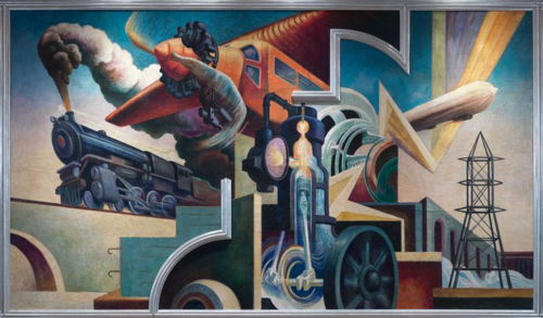 Thomas Hart Benton | Instruments of Power