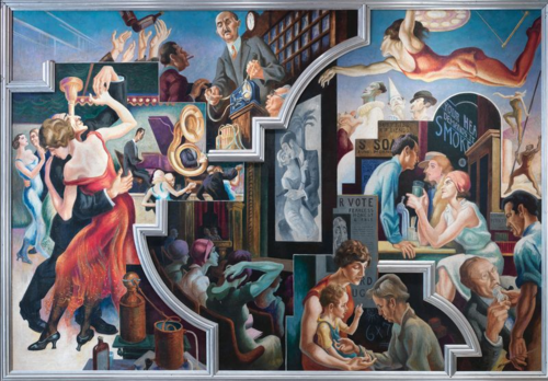 Thomas Hart Benton | City Activities With Dance Hall
