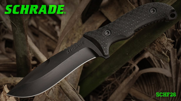 Schrade Extreme Survival SCHF26 fixed blade knife