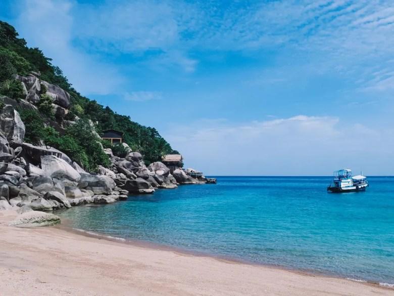 Maya bay located on the outskirts of Koh Tao Island.