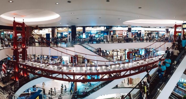 Golden Gate Bridge in the famous terminal 21 mall, Thailand.