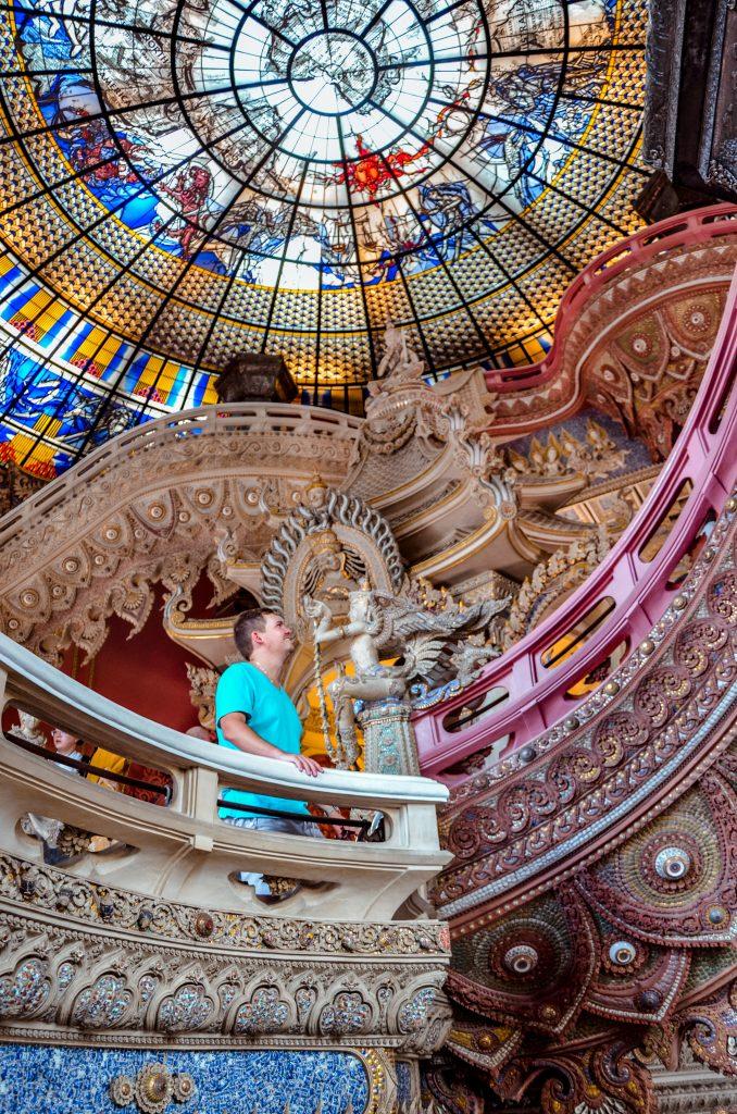 Erawan museum in Bangkok Thailand.