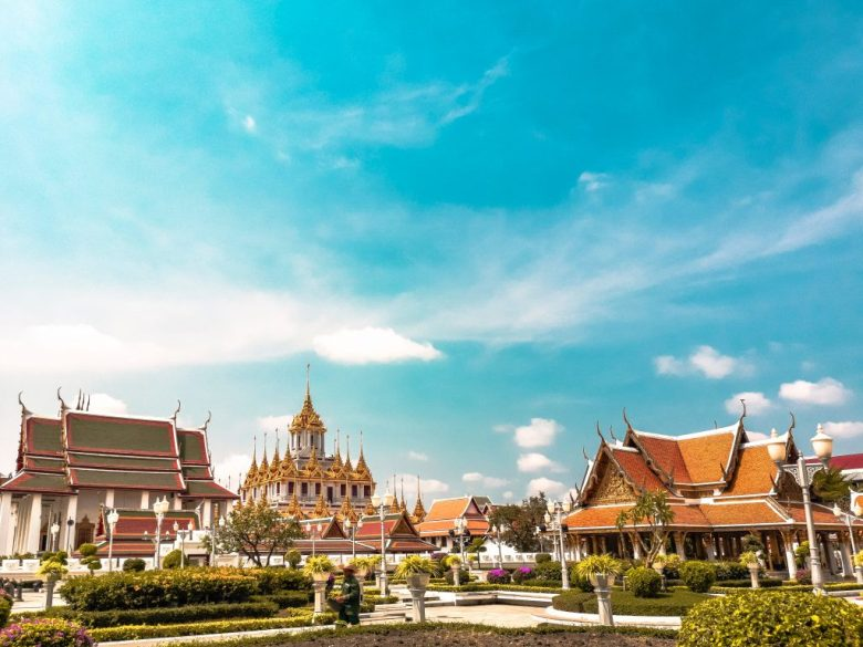 Temples in Bangkok Thailand one of the most romatic cities in Thailand