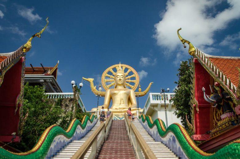 big buddha on Koh Samui island in Thailand