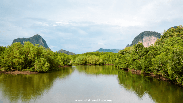 Krabi Town is a mountainous province with beautiful road and breathtaking views