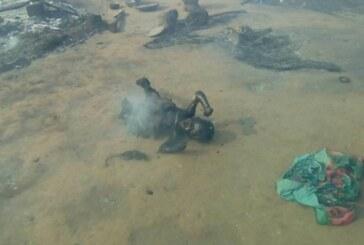 Batangafo :  M. Touadéra, 137 huttes incendiées, 921 sans – abris et un enfant brûlé à vif dans la maison des jeunes,   au camp des déplacés de Bagga……