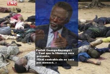 Insécurité : M. Onanga, pourquoi refusez – vous d'appliquer les résolutions 2127 et 2149 du conseil de sécurité ?