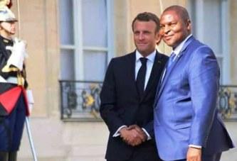 Touadéra marmonne, bégaie et perd son sang froid au micro de Christophe Boisbouvier après sa rencontre avec Macron