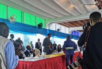 Le film de la cérémonie de la visite du président Kagamé au Palais de la Renaissance