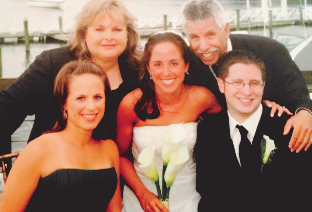 Pancreatic cancer survivor Howard Ebert and his family