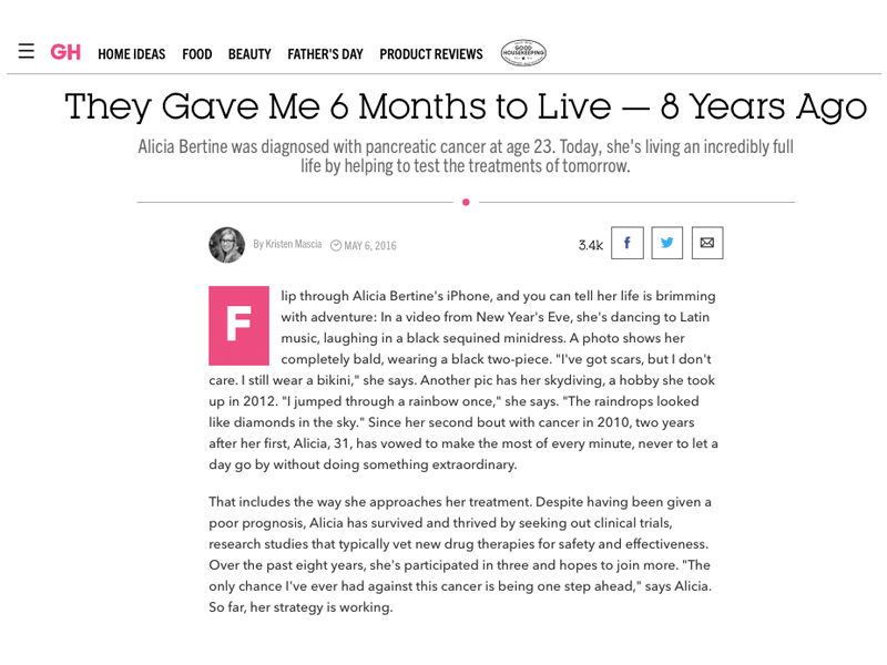 They Gave Me 6 Months to Live — 8 Years Ago