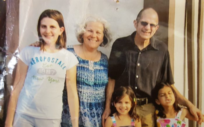 Pancreatic cancer patient Ken Parme and his family