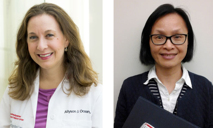 Allyson Ocean, M.D. and Ying-Hsiu Su, Ph.D.