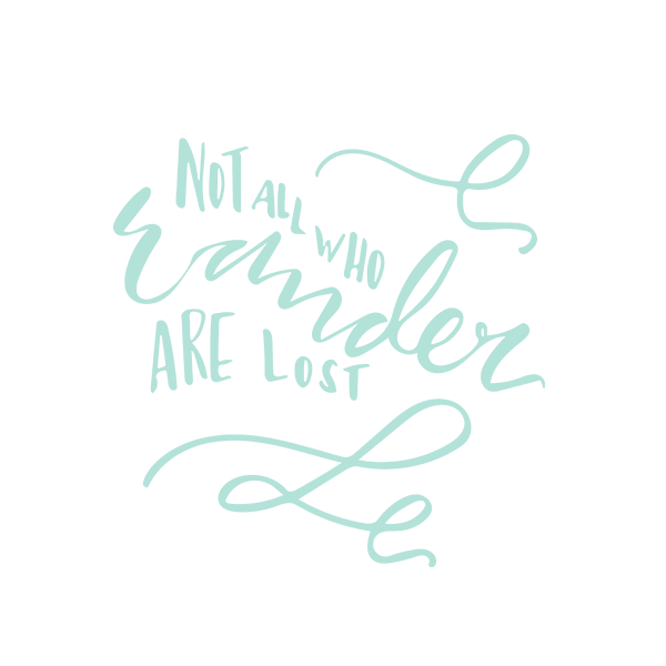 Not All Who Wander Letters