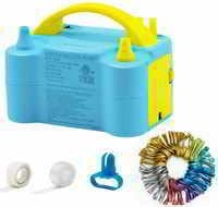 Tuomico Electric Balloon Pump Dual Nozzles