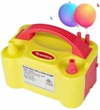 Portable Electric Balloon Pump Dual Nozzle, 600W Air Pump Balloon Inflator