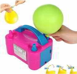 Party Zealot Electric Balloon Inflator with 100 Balloon Ties