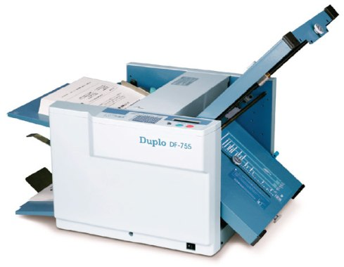 Duplo DF 755 Manual Paper folding machine review