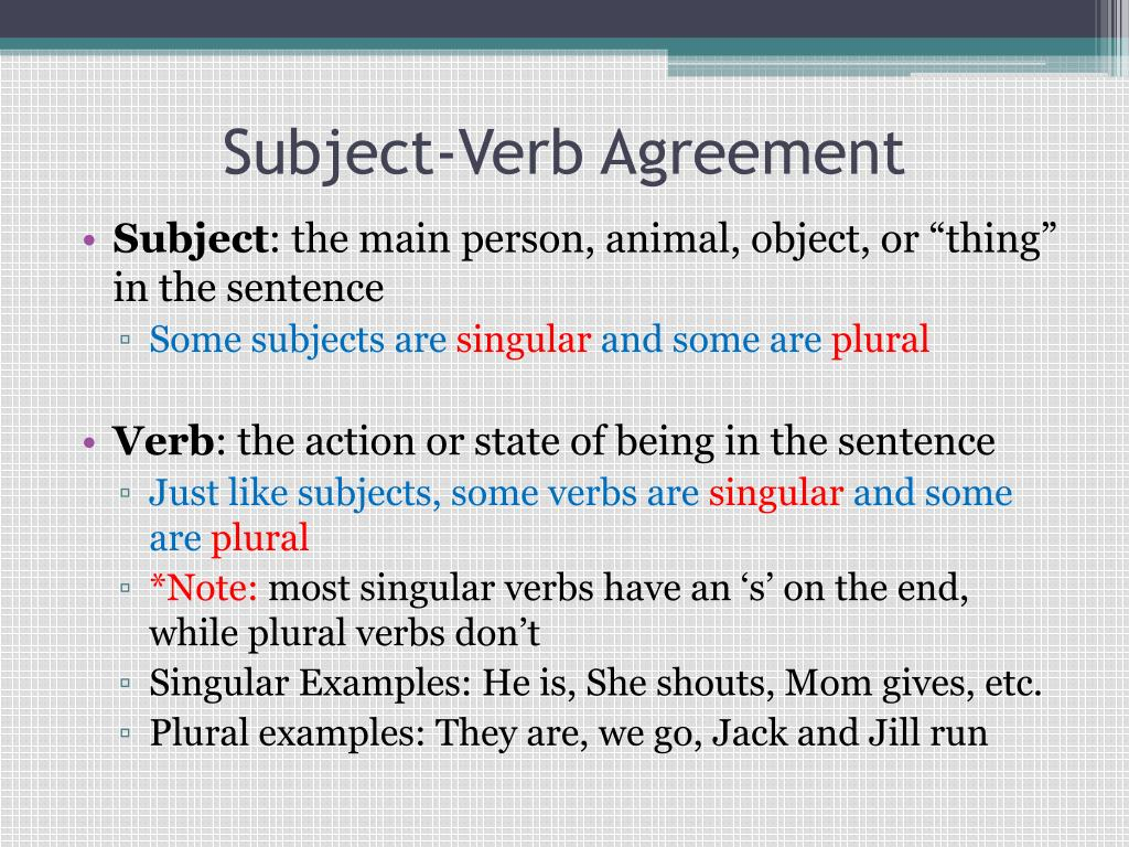 27 Excellent Photo Of Definition Of Verb Agreement