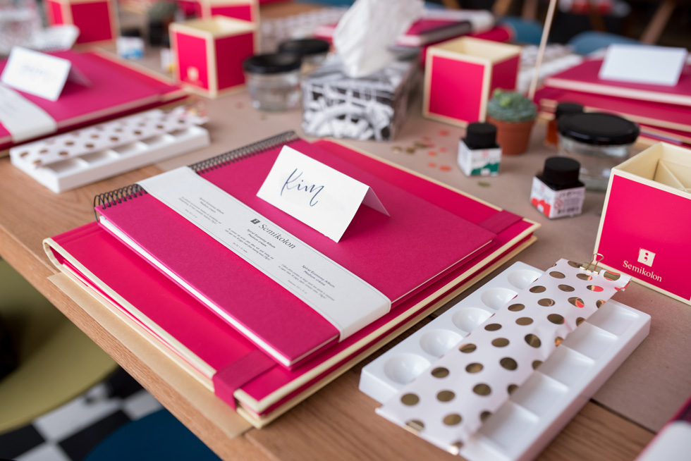 Handlettering Workshop Hamburg, Watercolor Lettering Workshop, Lettering Workshop, Workshop Hamburg, Workshop mit Martina Johanna & Nadja Dünnwald, Nadja Dünnwald Events